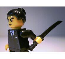 Japanese Yakuza Gokudō Gangster Custom Minifigure Photographic Print