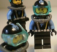 Diver 1 Minifigure by Customize My Minifig