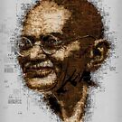 Gandhi by creativelolo