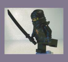 Black Ninja Custom Minifigure Kids Clothes