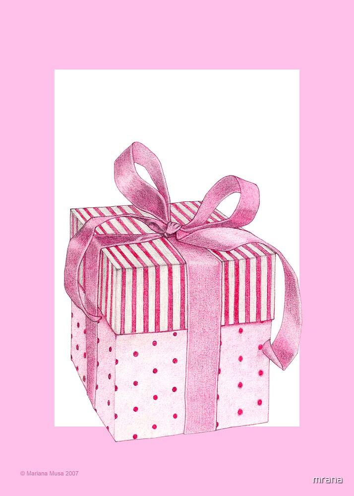 Pink Gift by Mariana Musa