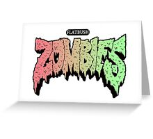 FLATBUSH ZOMBIES ARC DARCO ELIOT Greeting Card