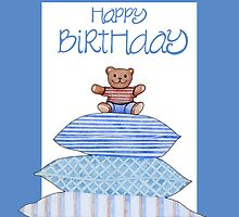 Teddy Bear and Cushions Birthday by Mariana Musa