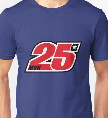 Maverick Vinales 25 Motogp driver Unisex T-Shirt