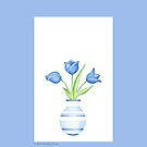 Blue Vase by mrana