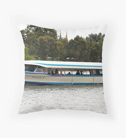 Popeye 11, River Torrens, Adelaide, Sth. Aust Throw Pillow