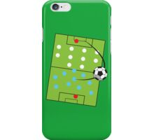 Football Soccer getting past the 4 4 2 formation iPhone Case/Skin