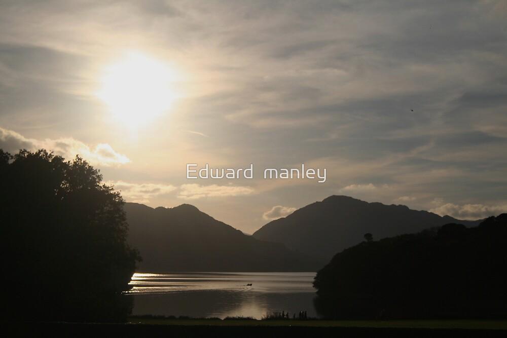 killarney   at dusk by Edward  manley