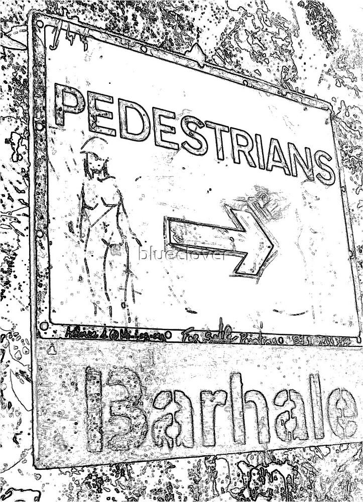 Street Sign- sketch style by blueclover