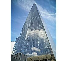The Sky in The Shard Photographic Print