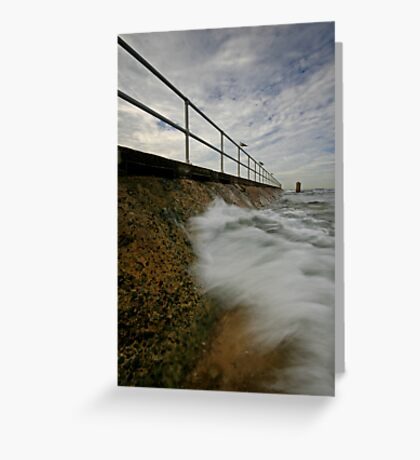 Merewether Baths 3 Greeting Card
