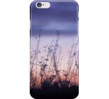 Wild Flowers at Dusk iPhone Case/Skin