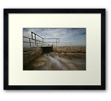 Merewether Baths 6 Framed Print