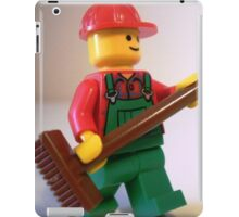 'Bert the Street Cleaner' Minifigure iPad Case/Skin
