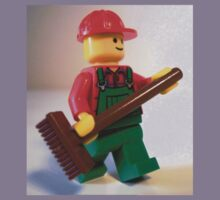 'Bert the Street Cleaner' Minifigure Kids Clothes