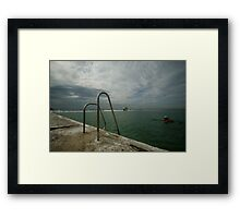 Merewether Baths 7 Framed Print