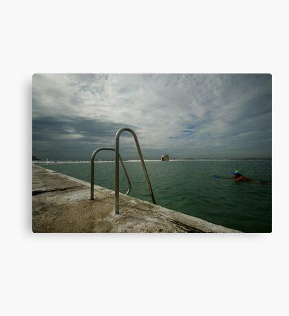 Merewether Baths 7 Canvas Print