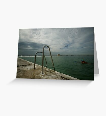 Merewether Baths 7 Greeting Card