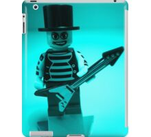 Emo, Goth, Punk, Band Guitarist Custom Minifigure iPad Case/Skin