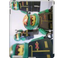 Motorcycle Stunt Team Minifigures iPad Case/Skin