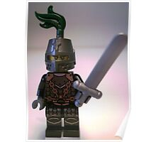 Dragon Knight with Chain Mail & Helmet Minifigure Poster