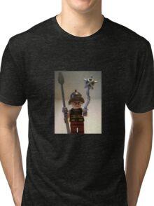 Gladiator 'Cracalla the Gladiator' Custom Minifig Tri-blend T-Shirt