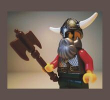 Viking Warrior with Custom Battle Axe Kids Clothes
