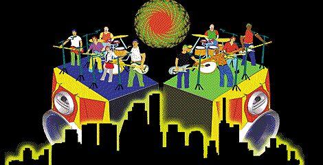 A City Built on Rock n' Roll by SarrMarkuzza