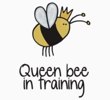 Queen bee in training by Corrie Kuipers