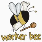 Worker bee - cook/chef by Corrie Kuipers