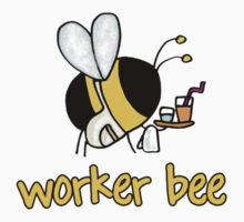 Worker bee - waiter/waitress/catering by Corrie Kuipers