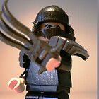 TMNT Teenage Mutant Ninja Turtles Master Shredder Custom Minifig 'Customize My Minifig' by Chillee