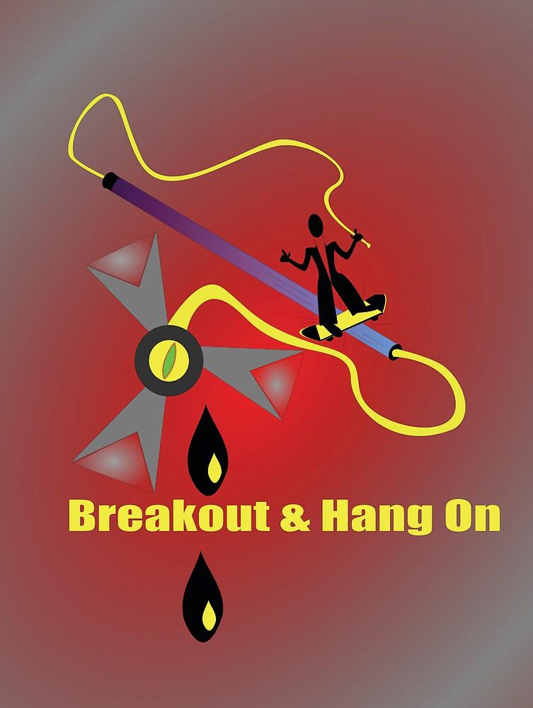 Breakout n' Hang On by SarrMarkuzza