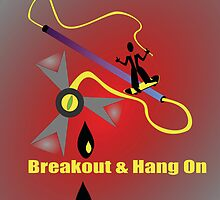 Breakout n' Hang On by SarrMarkuzza