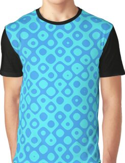 Brain Coral Blue - Coral Reef Series 045 Graphic T-Shirt