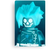 Professor Boom Custom Minifigure  Canvas Print