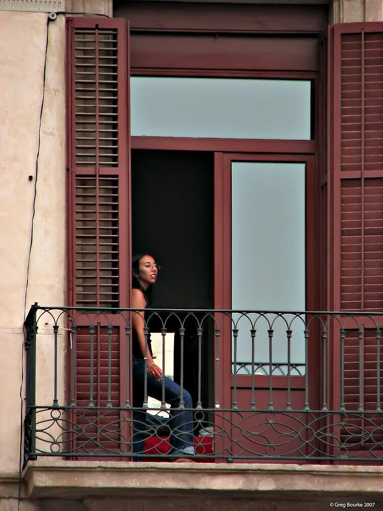 Girl in window by GregB