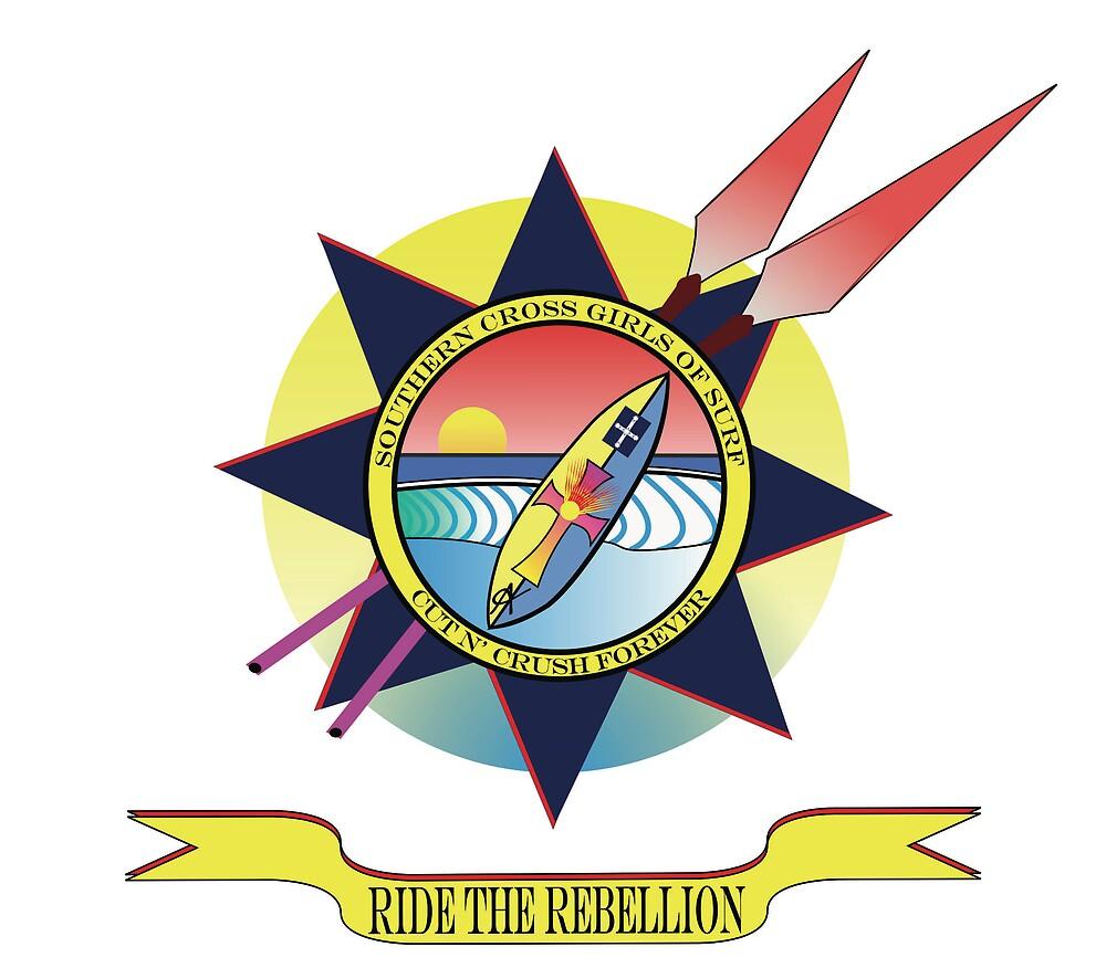 SCGS Surf Logo Experiment by SarrMarkuzza