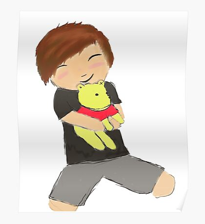 Danisnotonfire and pooh Poster