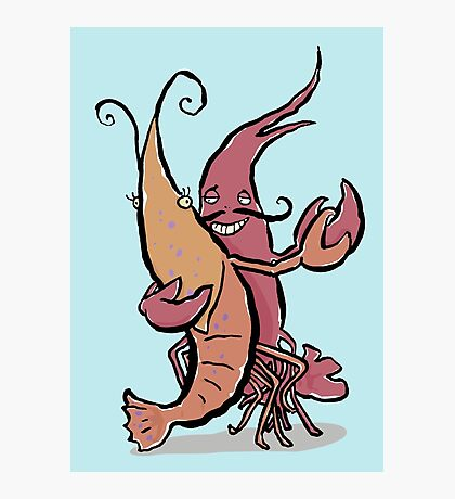 swaying lobsters Photographic Print