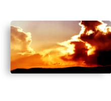 Scout Sky Canvas Print