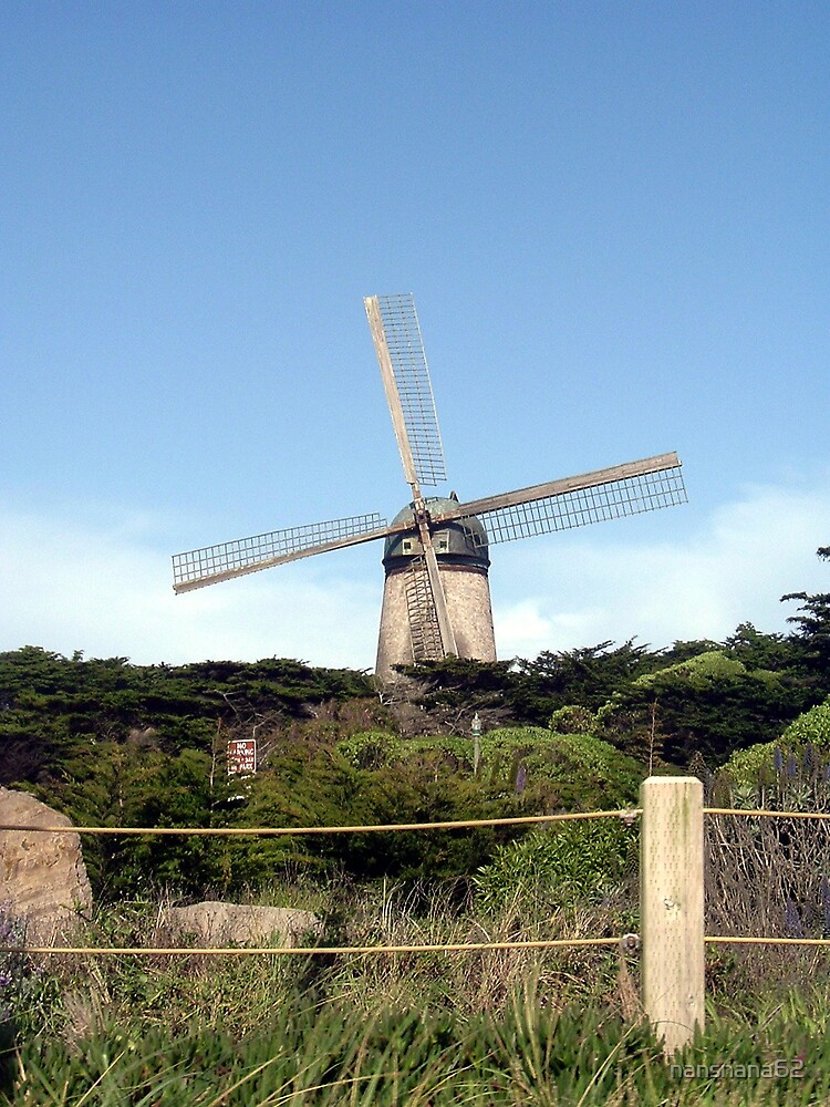 Windmill at Golden Gate Park by nansnana62