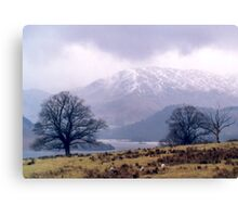 Ullswater View Canvas Print