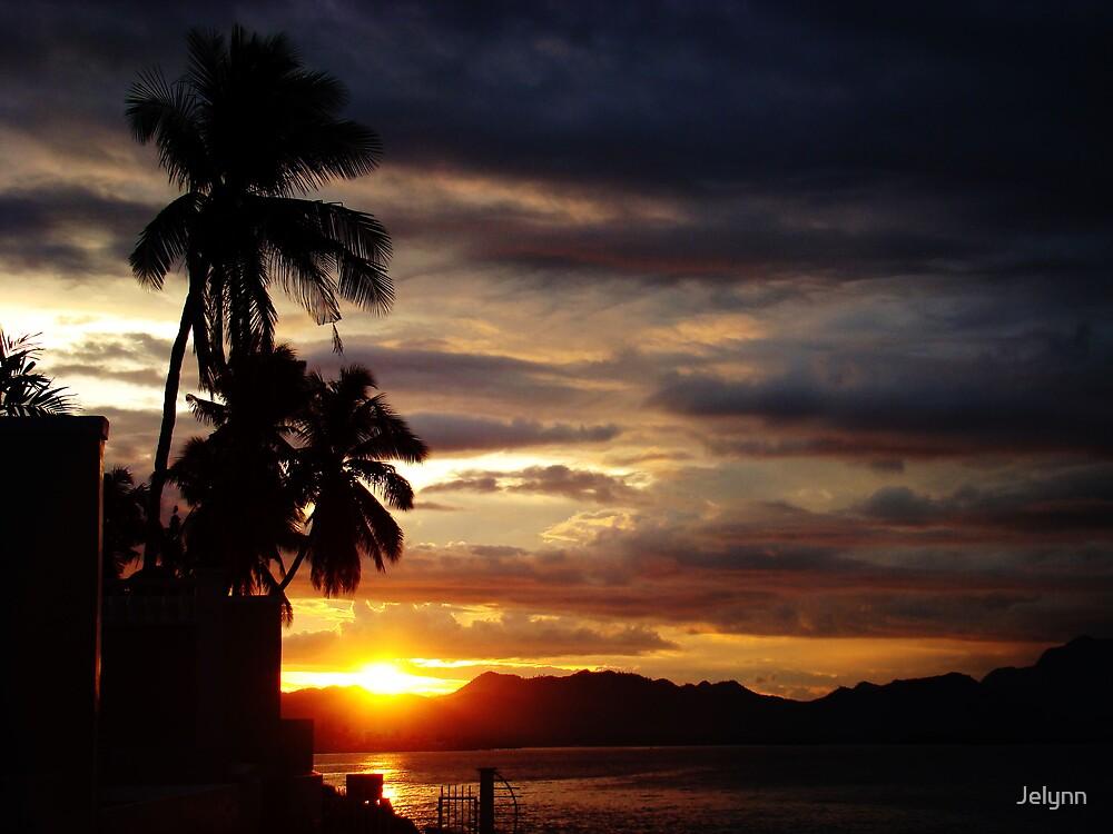 tropical sunrise by Jelynn