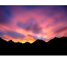 Mojave Sunrise Photographic Print