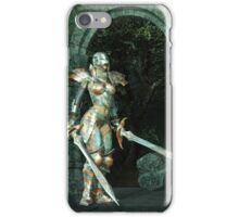 Angeluz - Knight in Shining Armour iPhone Case/Skin
