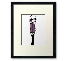 Chibi Tengu Framed Print