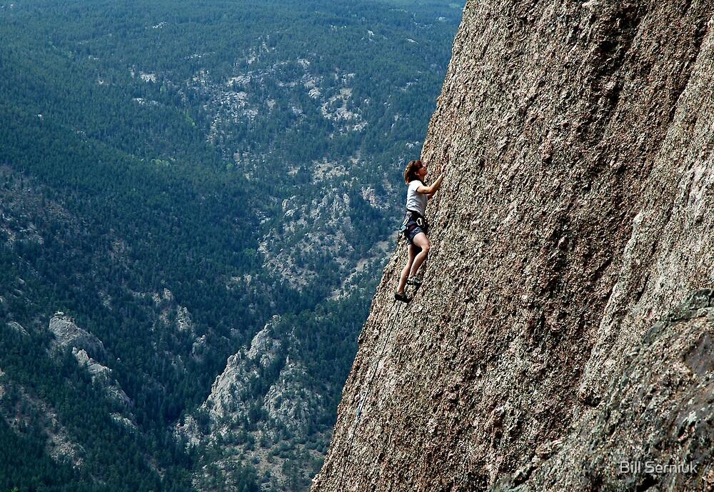 Climbing in Colorado by Bill Serniuk