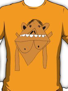 RTD0005C - Naked Monkey - Colour T-Shirt
