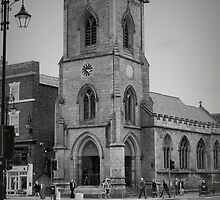 St. Michael's Church, Chester, England by Elaine Teague
